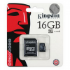 CELLECT Kingston microSDHC, 16 GB, 1 adapterrel, class4