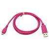 CELLECT Micro USB adatkábel, pink (rózsaszín)