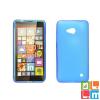 CELLECT Microsoft Lumia 650 vékony szilikon hátlap, Kék