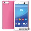 CELLECT Sony Xperia M5 vékony szilikon hátlap, pink