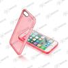 CELLULARLINE Tok, CLEAR COLOR mobiltelefonhoz, kemény műanyag, Iphone 7, Rózsaszin