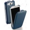 CELLULARLINE Tok, FLAP, mobiltelefonhoz, flipes, Samsung Galaxy S IV / S4, i9500, fehér