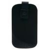 CELLULARLINE Tok, TATTO, mobiltelefon tok, polírozó béléssel, Easy Lift pánt tépőzáras, XXXL, fekete