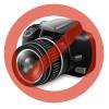 CELLY Air Case iPhone 7 Plus flip cover, Ezüst
