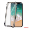 CELLY iPhone X színes keretű hátlap,Fekete