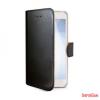 CELLY Nokia 8 oldalra nyíló tok,Fekete