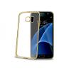 CELLY Samsung Galaxy S7 arany bumper hátlap