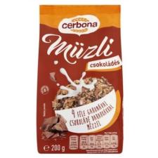Cerbona Müzli CERBONA csokis 200g alapvető élelmiszer