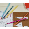 Ceruza, HB, hatszögletű, STABILO Pencil 160, rózsaszín testű (160/01-HB)