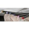 . Ceruza, rózsaszín kristállyal, 17,5cm, Crystals from SWAROVSKI®, fekete