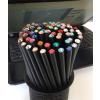 . Ceruzák tartóban, vegyes színű kristállyal, Crystals from SWAROVSKI®, 50 db/csomag