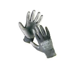 Cerva BUNTING Black nylon PU kesztyű - 8