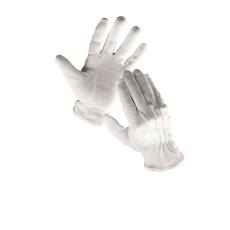 Cerva Bustard mikropöttyös kesztyű fehér  - 8