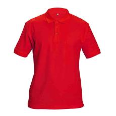 Cerva DHANU tenisz póló piros XXL