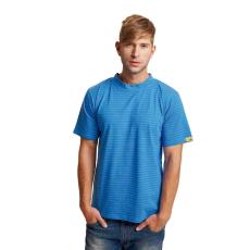 Cerva EDGE ESD trikó royal kék XXL