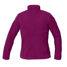 Cerva GOMTI női polár kabát sötét rózsaszín XL
