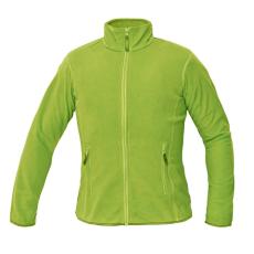 Cerva GOMTI női polár kabát zöldcitrom L