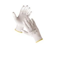 Cerva LARK ujjbegymártott nylon kesztyű - 8