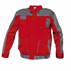 Cerva MAX EVO kabát piros/szürke 60