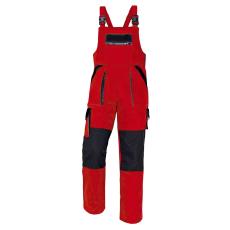 Cerva MAX kertésznadrág piros/fekete 50