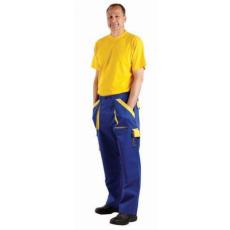 Cerva MAX nadrág kék/sárga 54