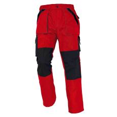Cerva MAX nadrág piros/fekete 62