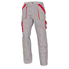 Cerva MAX nadrág szürke/piros 50