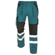 Cerva MAX REFLEX nadrág zöld/fekete 52