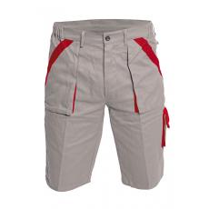 Cerva MAX rövidnadrág szürke/piros 54