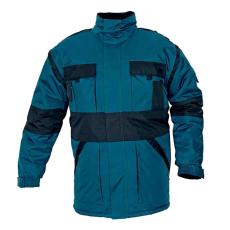 Cerva MAX téli kabát párnázott zöld/fekete L