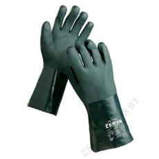 Cerva PETREL kesztyű zöld PVC