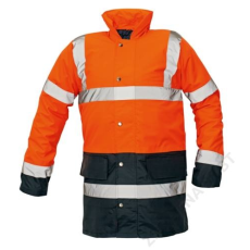 Cerva SEFTON kabát HV narancs/navy