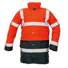 Cerva SEFTON kabát HV piros/navy S