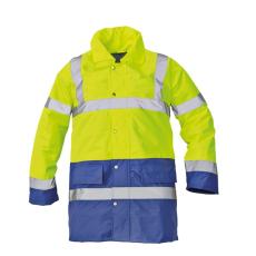 Cerva SEFTON kabát HV sárga/royal XXL