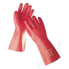 Cerva STANDARD kesztyű PVC 35cm, piros
