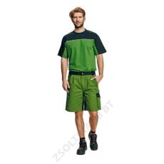 Cerva STANMORE rövidnadrág, zöld/fekete