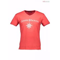 Cesare Paciotti Férfi piros póló Cesare Paciotti WH2-CP08TS_RED