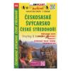Ceskosaské Svycarsko, Ceské stredohorí / Cseh-Svájc–Cseh-felvidék turistatérkép / Shocart