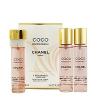 Chanel Coco Mademoiselle Eau De Toilette Utántöltő zsebparfümhöz 3x20 ml