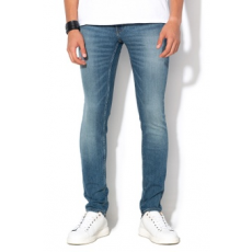 Cheap Monday , Unisex skinny farmernadrág, Kék, W34-L32 (0389637-BLUE-W34-L32)
