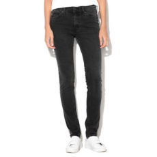 Cheap Monday , Uniszex skinny fit farmernadrág, Koptatott fekete, W33-L34 (0356733-BLACK-W33-L34)