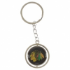 Chicago Blackhawks Kulcstartó Puck Spinning Ring