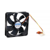Chieftec AF-1225S pc ház ventilátor - 120x120x25mm - 3 pin/Mole