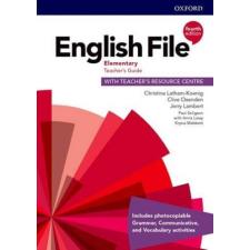 Christina Latham-Koenig, Clive Oxenden, Jerry Lambert: English File 4th Edition Elementary Teacher's Guide with Teacher's Resource Centre 4th Edition idegen nyelvű könyv