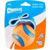 Chuckit! Ultra Tug strapabíro gumilabda hevederrel kutyáknak (L; 7 cm)
