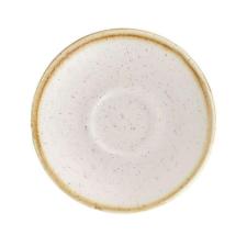 Churchill STONECAST BARLEY WHITE kerámia csészealj ( Espresso ) 11,8cm 1db, SWHSESS 1 ajándéktárgy