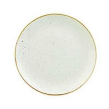 Churchill STONECAST BARLEY WHITE kerámia lapos tányér 26cm 1db, SWHSEV101 tányér és evőeszköz