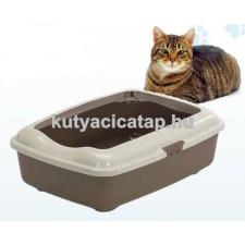 Cica alomtálca peremes méret 3 macskatoalett