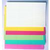 Címke papír, fehér, 30x120 mm