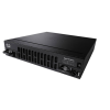 Cisco ISR4431/K9 Cisco ISR 4431 - Router - GigE 500 Mbps - 1 Gbps, 4x GE, 3x NIM, 1x ISC, 8GB Flash Memory, 2 GB DRAM (data plane), 4 GB DRAM (control plane), 1RU, 250W, 18.5 lb